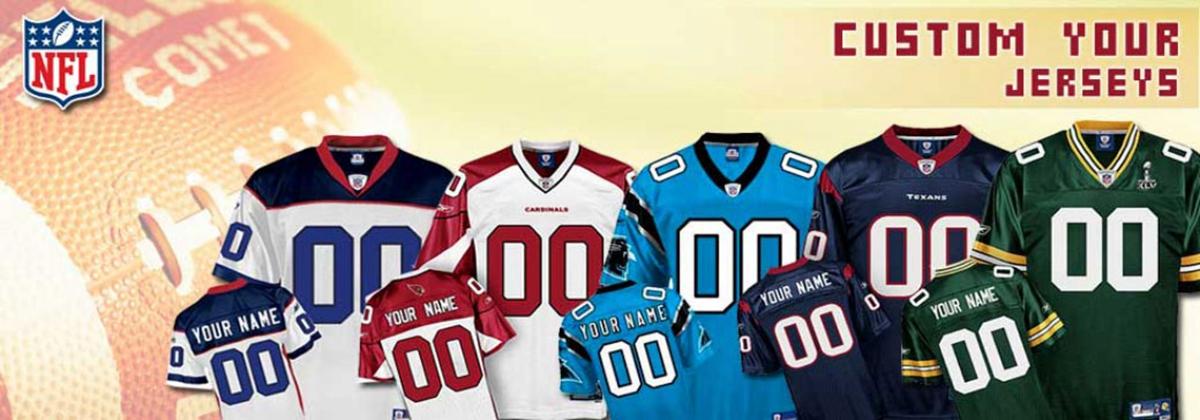 Custom NFL Drakter til amerikansk fotball